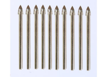 Good Quality Diamond Glass Cutter & 12mm Diameter Carbide Drill Bits Spear Tip 7mm Shank For Non - Ferrous Metal on sale