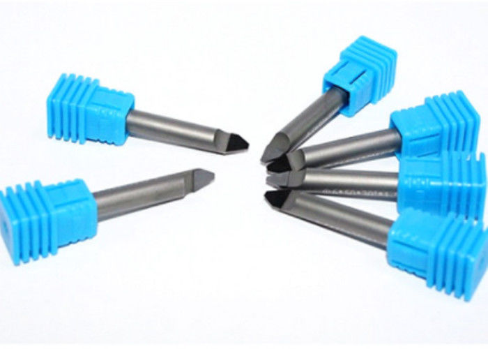 6mm*40mm PCD Router Cutters Precision Engineered Flute Design For Marble