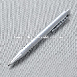 Cast Iron Body Diamond Point Scribe Pen With The Engravable Signature Mat