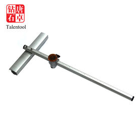60-210cm Length T Type Glass Cutter Sliver Color For Cutting Large Glass